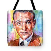 Fred Astaire Painting Tote Bag
