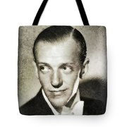 Fred Astaire, Vintage Actor And Dancer Tote Bag