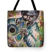 Freddie Hubbard Jazz Tote Bag