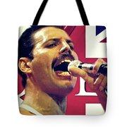 Freddie Mercury, Queen Tote Bag