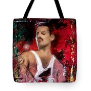 Queen Freddie Mercury Tote Bag