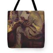 Frederic Bazille Painting The Heron 1867 Tote Bag