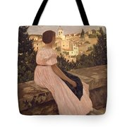Frederic Bazille   The Pink Dress Tote Bag