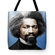 Frederick Douglass Painting In Color  Tote Bag