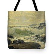 Frederick Judd Waugh 1861   1940 Coast Of Maine Tote Bag