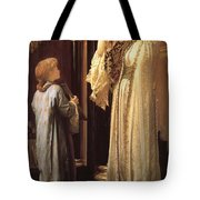 Frederick Leighton Light Of The Harem C  1880 Tote Bag