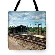 Fredericksburg Rail Station Tote Bag