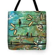Free As A Bird By Madart Tote Bag
