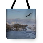 Free As A Bird  Tote Bag by Nicole Markmann Nelson