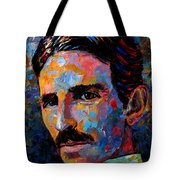 Free Energy Nikola Tesla Tote Bag