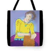 Free Form Tote Bag
