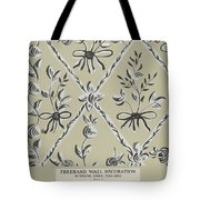 Free Hand Decoration Tote Bag