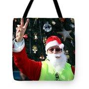 Free Palestine Santa Tote Bag