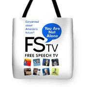 Free Speech Tv Tote Bag