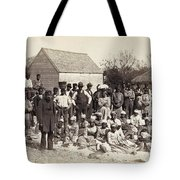 Freed Slaves, 1862 Tote Bag by Granger