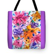 Freedom For Flowers Tote Bag