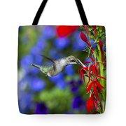 Freedom Hummingbird Tote Bag