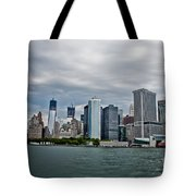 Freedom In Manhattan Tote Bag