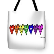 Freedom Is In The Rainbow Tote Bag