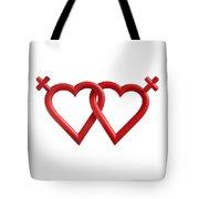 Freedom Love Tote Bag