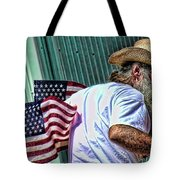 Freedom Man Tote Bag