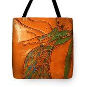 Freedom Of Dance - Tiled Tote Bag
