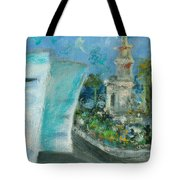 Freedom Tower And Aaa Tote Bag