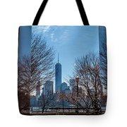 Freedom Tower Framed Tote Bag
