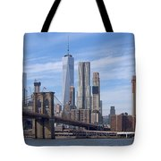 Freedom Tower I I Tote Bag