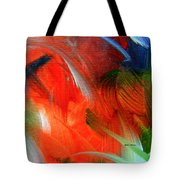 Freedom With Art Tote Bag