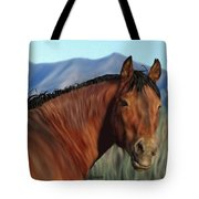 Freedom's Glance Tote Bag