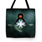 Freemason Symbol By Raphael Terra Tote Bag
