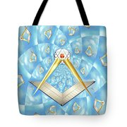 Freemason Symbolism Tote Bag