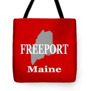Freeport Maine State City And Town Pride  Tote Bag