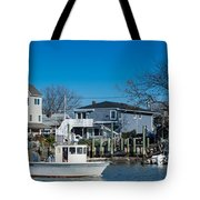 Freeport New York Bound For The Bay Tote Bag