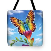 Freesia - Necessary Change Tote Bag