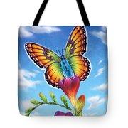 Freesia - Necessary Change Tote Bag
