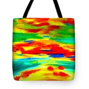 Freestyle Abstract Tote Bag