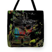 Freeway Park Steps Tote Bag