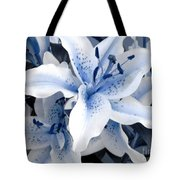 Freeze Tote Bag by Shelley Jones