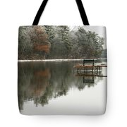 Freezing Fog Tote Bag