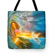 Freezing The Moment Tote Bag