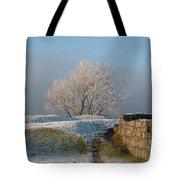 Freezing Tree Tote Bag