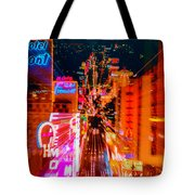 Fremont Street For One From The Heart Tote Bag