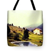 French Alps 1955 Tote Bag