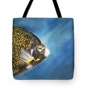 French Angel Tote Bag