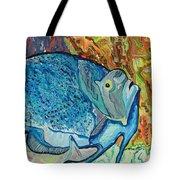 French Angle Fish Tote Bag