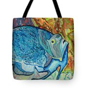 French Angle Fish Tote Bag