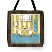 French Bath 2 Tote Bag