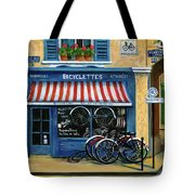 French Bicycle Shop Tote Bag